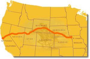 Route 66 Pony Express e Fiori di Gaia
