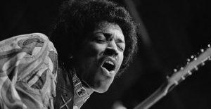 Jimi Hendrix canta purple haze